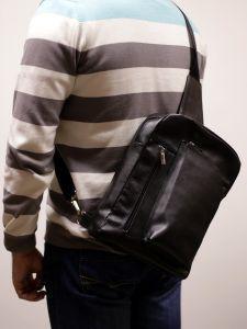 Мужская сумка из кожи SK01303